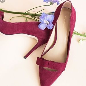 NWT Anne Taylor Odette Pumps in Tawny Port - Size7